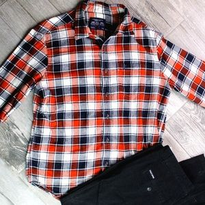 Mens Outfit American Eagle Flannel & Skinny Jeans